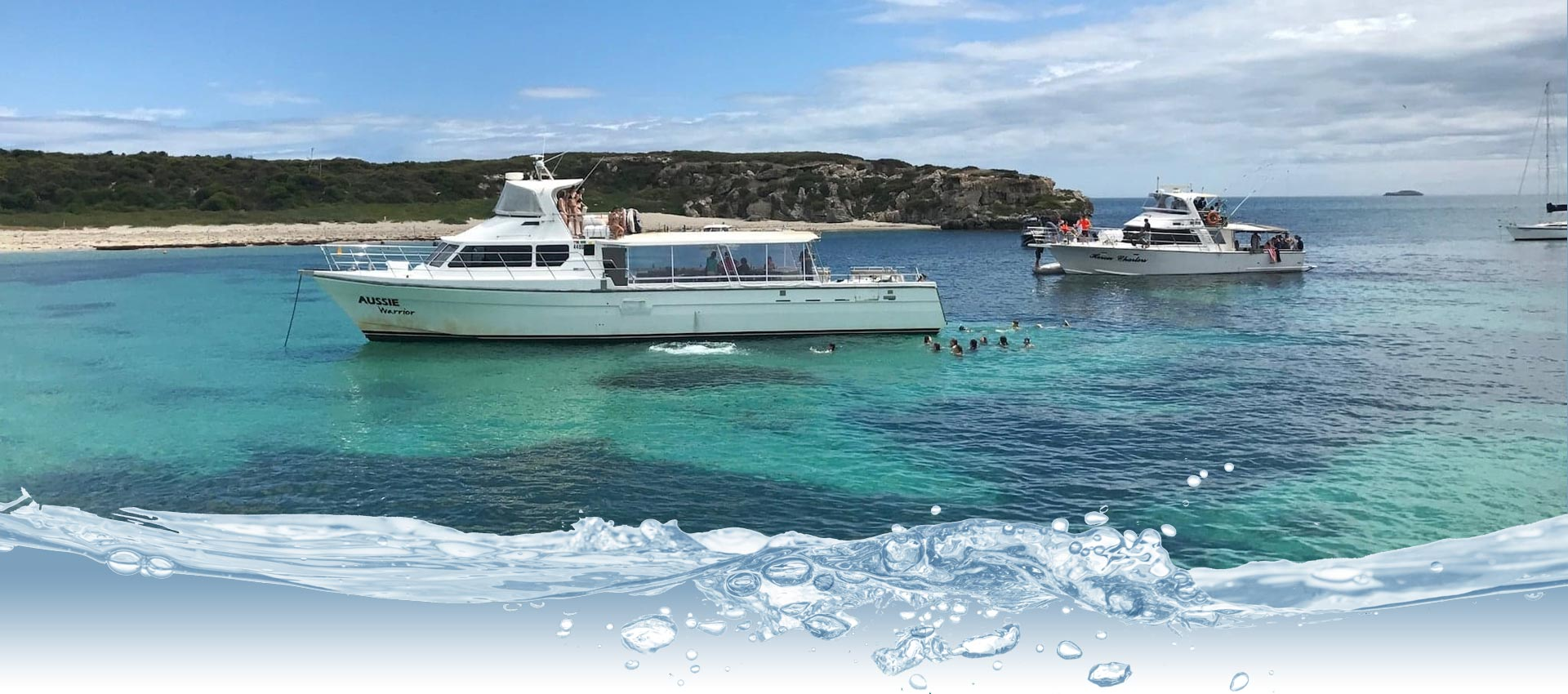 whats included on an abrolhos island charters